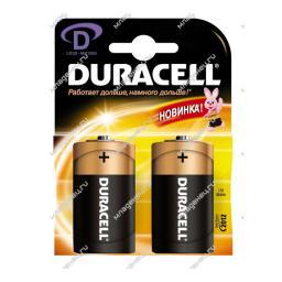 Батарейки Duracell 2 шт. D LR20 (большая) Procter & Gamble