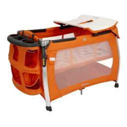 Манеж-кровать Joovy Room Джови Рум Оранжевый Joovy