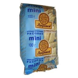 Хлебцы Здоровей Мини 100 гр. Рисовые Здоровей