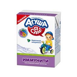 Смесь Агуша кисломолочная 200 мл Иммунити (с 8 мес) Агуша