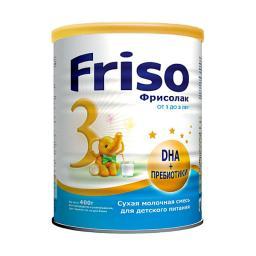 Заменитель Frisо Фрисолак 400 гр №3 (с 12 мес) Friso