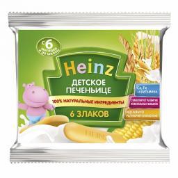 Печенье Heinz 60 гр. 6 злаков (с 6 мес.) Heinz
