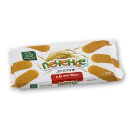 Печенье Расти Большой с 6 мес. 100 гр. Овсяное Расти Большой