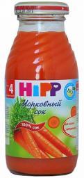 Сок Hipp 200 мл. Морковь (с 4 мес.) Hipp