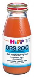 Сок Hipp ORS 200 мл. Морковно-рисовый отвар (с 4 мес.) Hipp