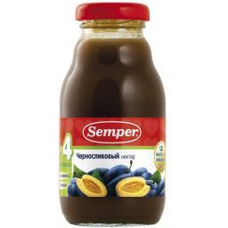 Сок Semper 200 мл. Чернослив (с 4 мес.) Semper