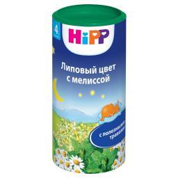 Чай детский Hipp быстрорастворимый 200 гр Липа мелисса (с 4 мес) Hipp