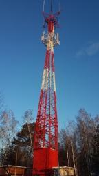 Эстакады опоры башни, вышки связи