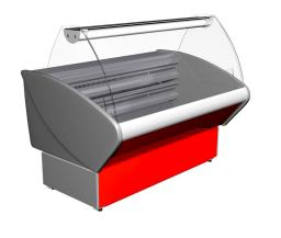 Низкотемпературная холодильная витрина Полюс ВХСн-1,5 Полюс Эко