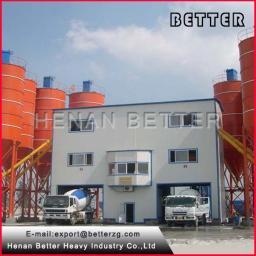 бетонный заводHZS180