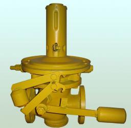 Предохранительно-запорные клапаны ПКН(В)-50, ПКН(В)-100, ПКН(В)-200