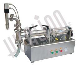 Настольный поршневой дозатор для жидких продуктов LPF-500T