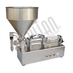 Настольный поршневой дозатор для пастообразных продуктов PPF-250T