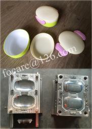 Изготовление пресс-форм для коробки для завтрака из пластика