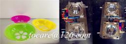 Китайское изготовление пресс-формы для пластмассовой тарелки