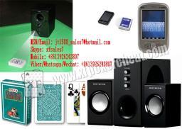 XF Пластиковые Черный Music Box камера для штрих-кодов с отметкой Игральные карты / Аудио Camera / Привет-Fi камеры