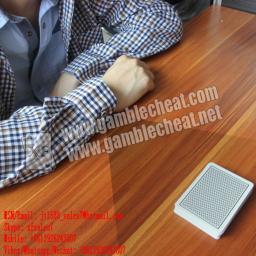 XF Крисс рукавом Кнопка камеры с коротким Расстояние Сканирование штрих-кодов Отмеченные карты для игры в покер Игральные карты чтения