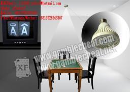 XF новый стиль лампа с другой камеры сканирования задней, чтобы увидеть маркировку на задней карт / светящиеся карты / размеченные карты микро наушник / Техасский Холдем чит / покер сканер / контактные линзы / карты чит / покер обман / невидимые чернила