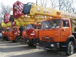 Аренда услуги автокрана 14, 16, 20, 25 тонн, 22 и 28 метров / Собственный парк спецтехники.