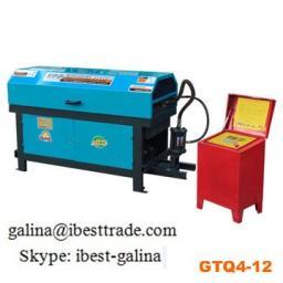 Автоматический станок для правки и резки арматуры GTQ4-12