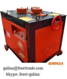 Станок для гибки дуг и спиралей арматуры GWH10GWH24GWH32