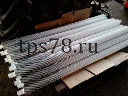 Ребристая труба (конвектор стальной отопительный)