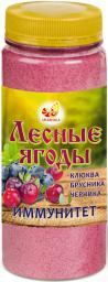 Лесные ягоды: клюква, брусника, черника (дроблёные)
