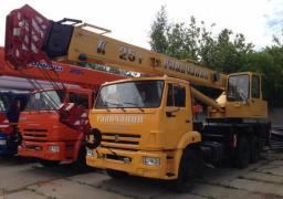 Автокран «Галичанин» КС 55713-1 25 тонн.