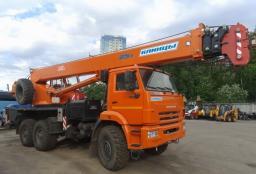 Автокран «Клинцы» КС-55713 25 тонн 28 м. Камаз-43118