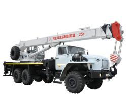 Автокран «Челябинец» КС-55732-21 на шасси УРАЛ-4320