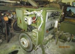 Генератор синхронный ДГС-92-4М-М201 со шкафом управления на станине