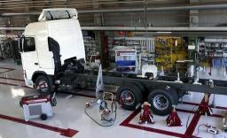 Ремонт рулевого управления, компьютерный сход-развал, регулировка соосности автопоезда, шиномонтаж