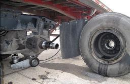 Техническое обслуживание и ремонт осей полуприцепов и подвески