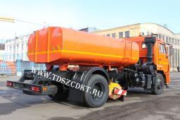 Дорожная машина КДМ-650-11 на базе КамАЗ-43253 (летнее исполнение)