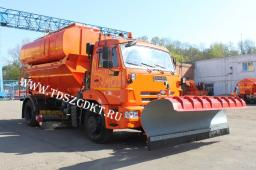 Комбинированная машина ЭД-244К на базе КамАЗ-43253 (зима-лето)