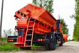 ЭД244К комбинированная машина на шасси КамАЗ-43253 (зимний вариант)