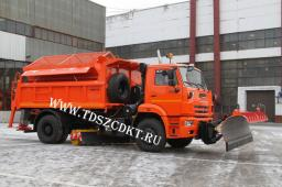 Самосвал КамАЗ-53605 с Пескоразбасывающим оборудованием (ЭД-244КМ)