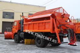 Комбинированная машина КДМ-650-09-01 на самосвале КамАЗ-53605 (4х2)