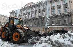 уборка снега в Санкт-Петербурге и области