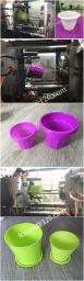Пресс-форма для пластикового цветочного горшка