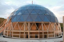 Светопрозрачный стеклянный купол