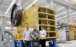 Щековая дробилка модель PE-800х1060 из Китая новая