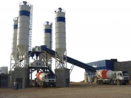 Бетонный завод HZS35 новый из Китая гарантия качества