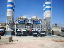 Бетонный завод HZS50 новый с завода Китая с гарантией