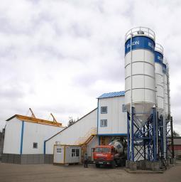 Бетонный завод HZS25 из КНР гарантия установка