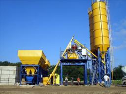 Бетонный завод HZS180 из Китая качество, гарантия, сервис