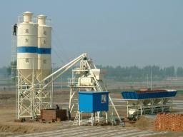 Бетонный завод HZS120 до 120т/ч из Китая новый