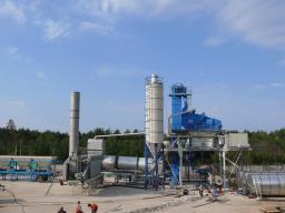 Асфальтный завод модель LB4000 до 320 т/ч китайский новый качественный