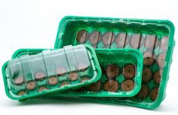 Минипарник с торфяными таблетками 41 мм,14 ячеек,