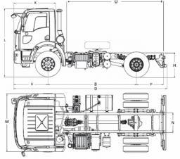 Самосвал Ford 1826D DC